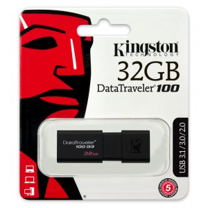 MEMORIA USB 32GB KINGSTON...