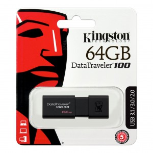MEMORIA USB 64GB KINGSTON...