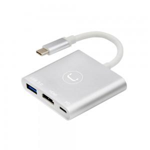HUB 3 EN 1 TIPO C/ HDMI,USB...