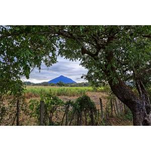Volcán azul