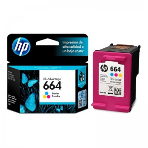 CARTUCHO DE TINTA HP 664
